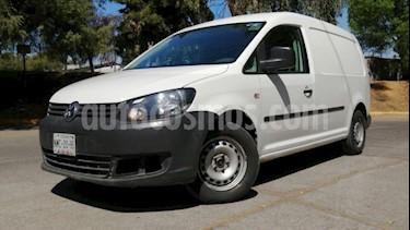 Volkswagen Caddy 4P CARGO VAN MAXI 1.2T 105 HP TM5 DA R-15 usado (2014) color Blanco precio $175,000