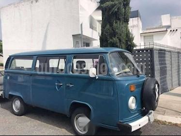 Volkswagen Combi Caravelle usado (1985) color Azul precio $35,000