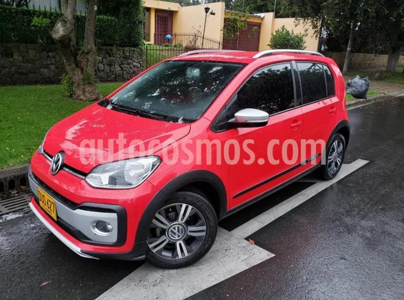 Volkswagen Cross up! 1.0L Cross usado (2018) color Rojo precio $34.900.000