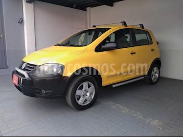 Foto venta Auto usado Volkswagen CrossFox 1.6L ABS (2009) color Amarillo Imola precio $97,900