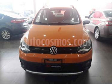 foto Volkswagen CrossFox 1.6L ABS usado (2014) color Naranja precio $134,000