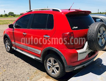 Volkswagen CrossFox Comfortline usado (2010) color Rojo precio $350.000