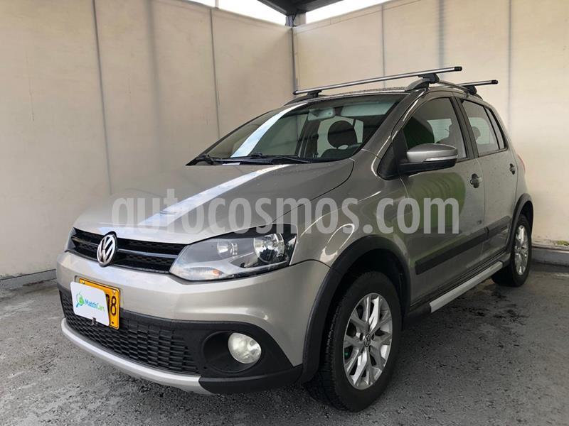 foto Volkswagen Crossfox 1.6L usado (2013) color Gris precio $29.990.000