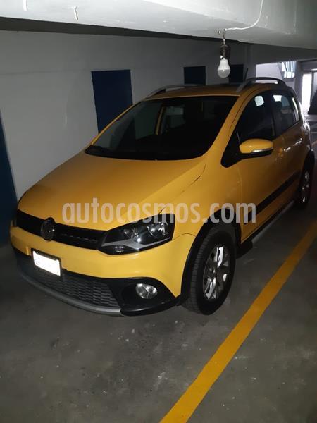 Volkswagen CrossFox 1.6L Quemacocos ABS usado (2013) color Amarillo Imola precio $133,500