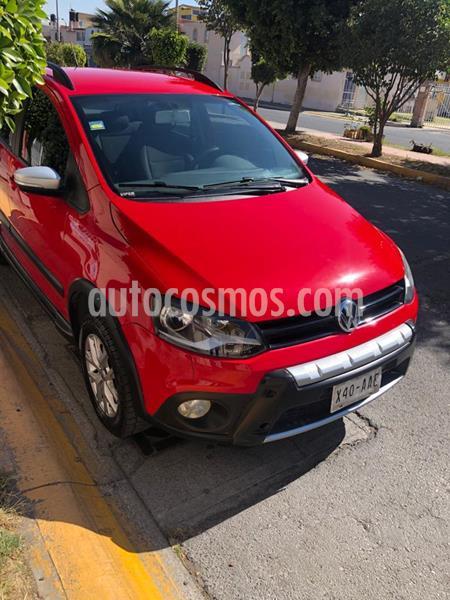 Volkswagen CrossFox 1.6L ABS usado (2015) color Rojo precio $139,000