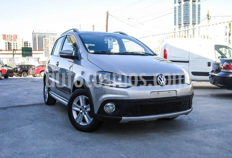 Volkswagen CrossFox 1.6L usado (2011) color Plata precio $96,990
