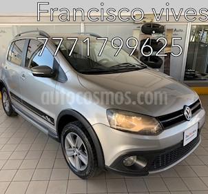 Volkswagen CrossFox 1.6L usado (2012) color Gris precio $134,900