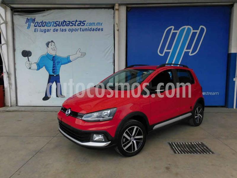 Volkswagen CrossFox 1.6L 10 anos usado (2017) color Rojo precio $96,000
