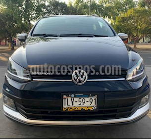 Volkswagen CrossFox 5p HB L4/1.6 Man usado (2017) color Azul precio $195,000