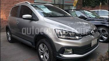 Volkswagen CrossFox 1.6L usado (2017) color Plata precio $173,000
