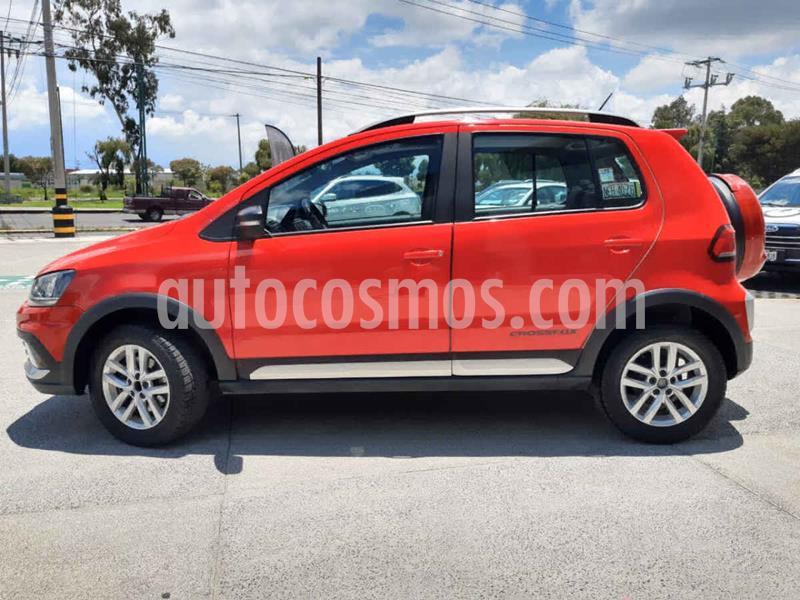 Volkswagen CrossFox 1.6L Quemacocos usado (2016) color Rojo precio $166,000
