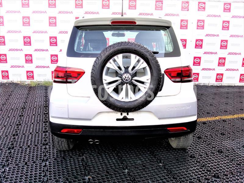 Volkswagen CrossFox 1.6L Quemacocos usado (2017) color Blanco precio $195,000