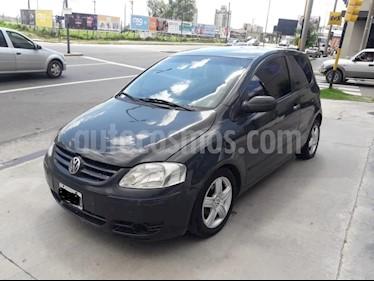Foto venta Auto Usado Volkswagen Fox 3P Route (2005) color Gris Oscuro precio $155.000
