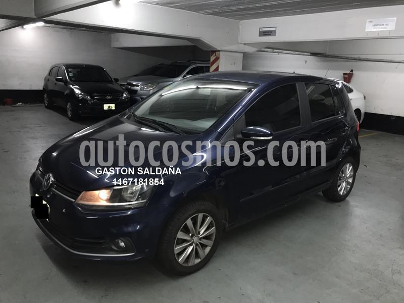 Volkswagen Fox 5P Trendline usado (2015) color Azul precio $620.000