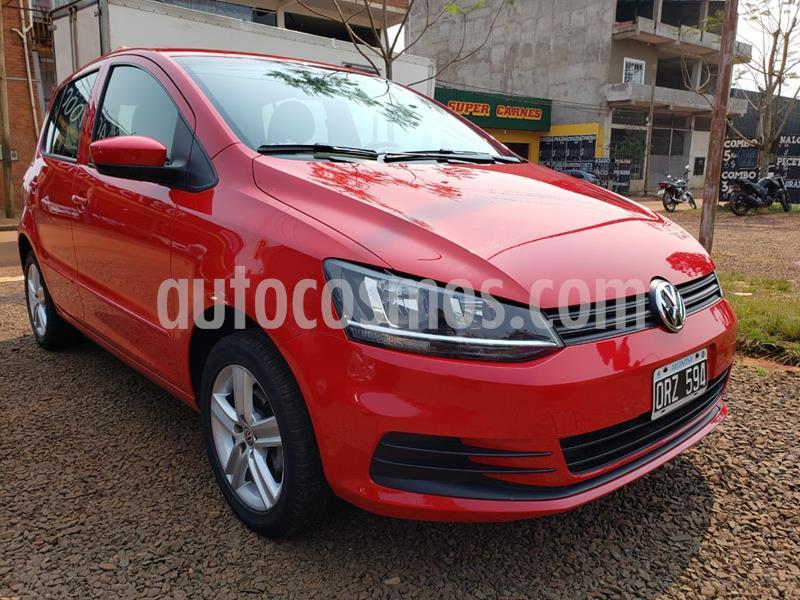 Volkswagen Fox 1.6 Comfortline ABS 5Ptas. usado (2015) color Rojo precio $800.000
