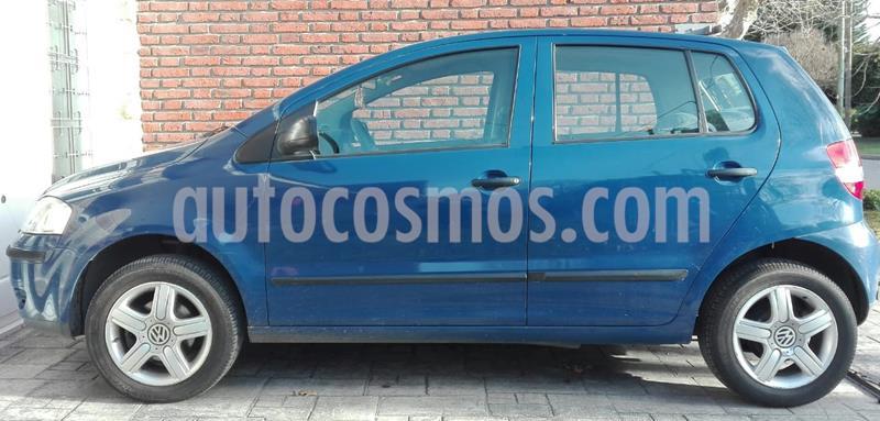 Volkswagen Fox 5P Comfortline usado (2007) color Azul precio $370.000
