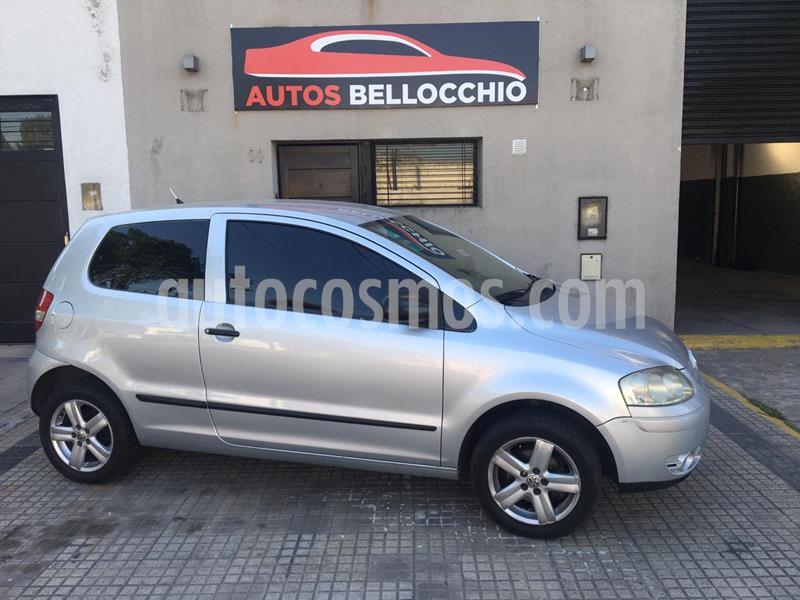 Volkswagen Fox 3P Trendline usado (2008) color Gris Urano precio $490.000