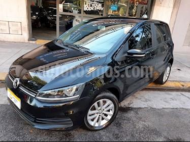Volkswagen Fox - usado (2018) color Negro precio $540.000