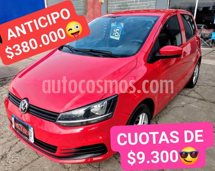 Volkswagen Fox 5P Trendline usado (2016) color Rojo precio $690.000