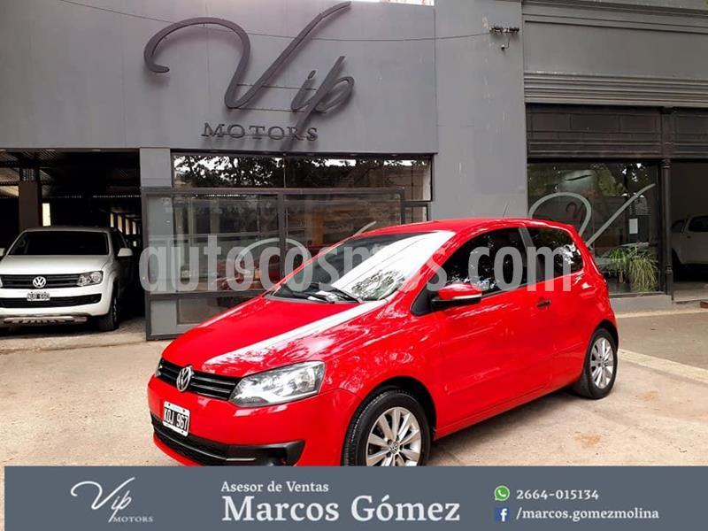 Volkswagen Fox 5P Trendline SDI  usado (2011) color Rojo precio $650.000