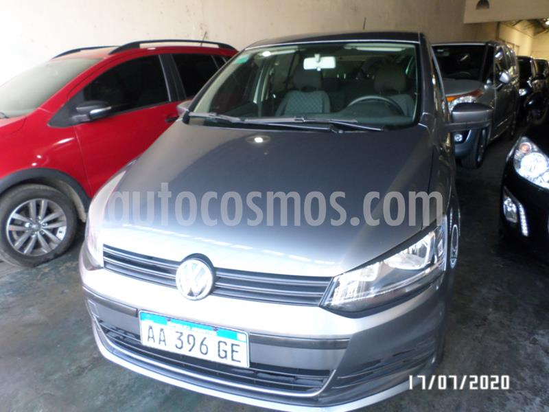 Volkswagen Fox 5P Trendline usado (2016) color Gris Oscuro precio $655.000