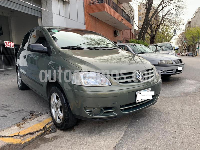 Volkswagen Fox 1.6 Trendline 3Ptas. (Faros / PM / Spoiler) usado (2006) color Gris precio $359.000
