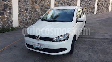 Foto venta Auto usado Volkswagen Gol Sedan 1.6L (2014) color Blanco precio $98,000