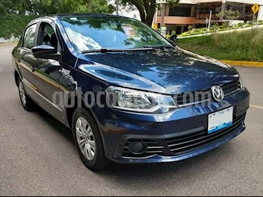 Foto Volkswagen Gol Sedan CL Aire usado (2017) color Azul precio $145,000