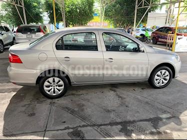 Volkswagen Gol Sedan CL Seguridad I - Motion usado (2015) color Gris Cuarzo precio $102,000