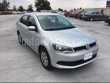 Foto venta Auto usado Volkswagen Gol Sedan I - Motion (2016) color Plata Egipto precio $140,000