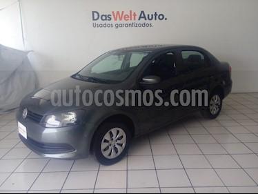 Foto venta Auto usado Volkswagen Gol Sedan I - Motion (2015) color Verde precio $134,900
