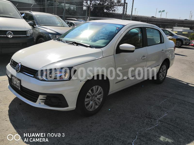 Volkswagen Gol Sedan 1.6L usado (2017) color Blanco precio $135,000