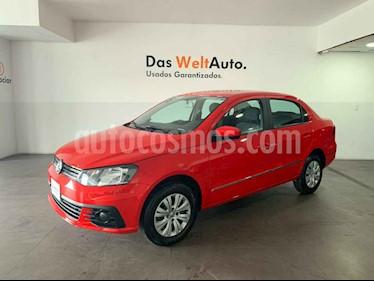 Volkswagen Gol Sedan Trendline usado (2018) color Rojo precio $163,900