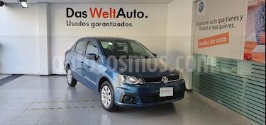 Volkswagen Gol Sedan I - Motion usado (2018) color Azul Noche precio $189,000