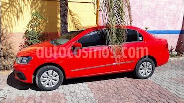 Volkswagen Gol Sedan Trendline usado (2017) color Rojo precio $132,000