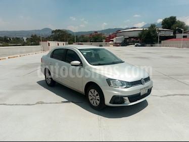 Volkswagen Gol Sedan Trendline Ac usado (2017) color Plata precio $130,000