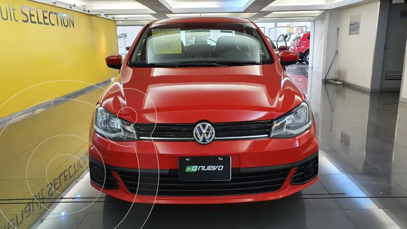 Foto Volkswagen Gol Sedan Trendline usado (2018) color Rojo precio $169,000
