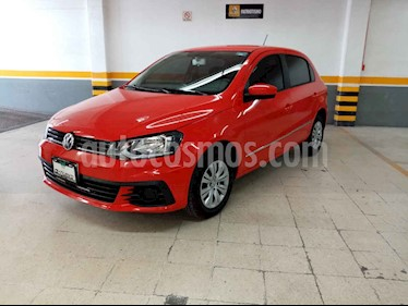 Volkswagen Gol Sedan Trendline I - Motion usado (2018) color Rojo precio $175,000