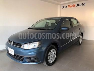 Foto Volkswagen Gol Sedan Trendline usado (2018) color Azul precio $190,000