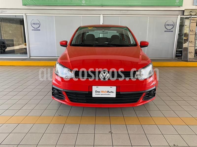 Volkswagen Gol Sedan Trendline usado (2017) color Rojo precio $149,900