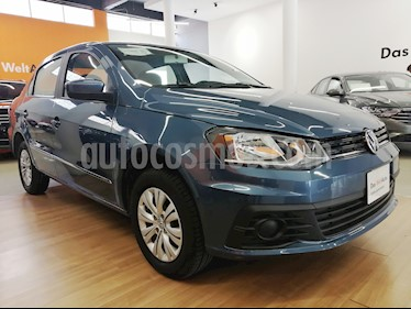 Foto venta Auto usado Volkswagen Gol Sedan Trendline Ac Seguridad (2018) color Azul precio $140,500