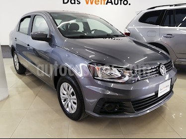 Foto venta Auto usado Volkswagen Gol Sedan Trendline Ac Seguridad (2018) color Gris Vulcano precio $186,000