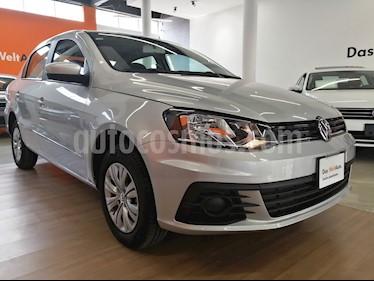 Foto venta Auto usado Volkswagen Gol Sedan Trendline Ac Seguridad (2018) color Plata precio $185,000