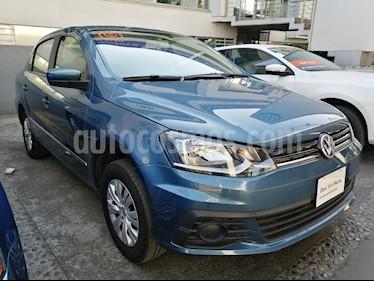 Foto venta Auto usado Volkswagen Gol Sedan Trendline Ac Seguridad (2018) color Azul precio $175,000