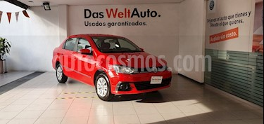 Volkswagen Gol Sedan Trendline I - Motion usado (2018) color Rojo precio $199,000