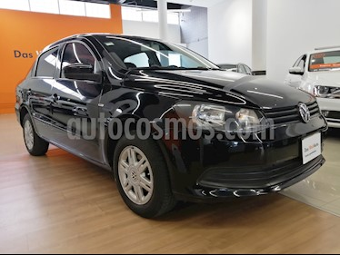 Foto venta Auto usado Volkswagen Gol Sedan Trendline (2015) color Negro precio $90,000