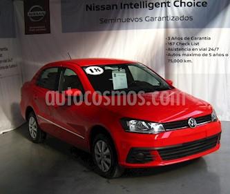 Foto venta Auto usado Volkswagen Gol Sedan Trendline (2018) color Rojo precio $160,000