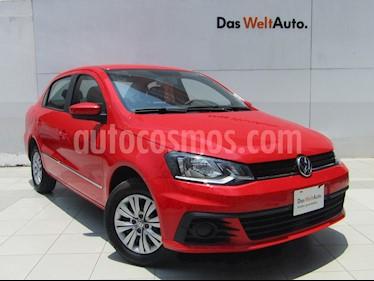 foto Volkswagen Gol Sedán Trendline usado (2018) color Rojo Flash precio $189,000