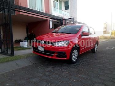 Volkswagen Gol Sedan Trendline usado (2017) color Rojo precio $158,000