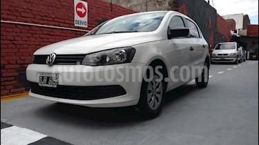 Volkswagen Gol Trend - usado (2014) color Blanco precio $265.000